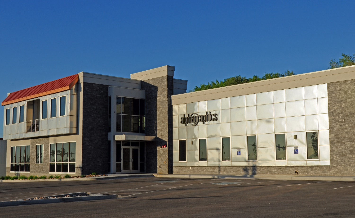 Alphagraphics Office Building