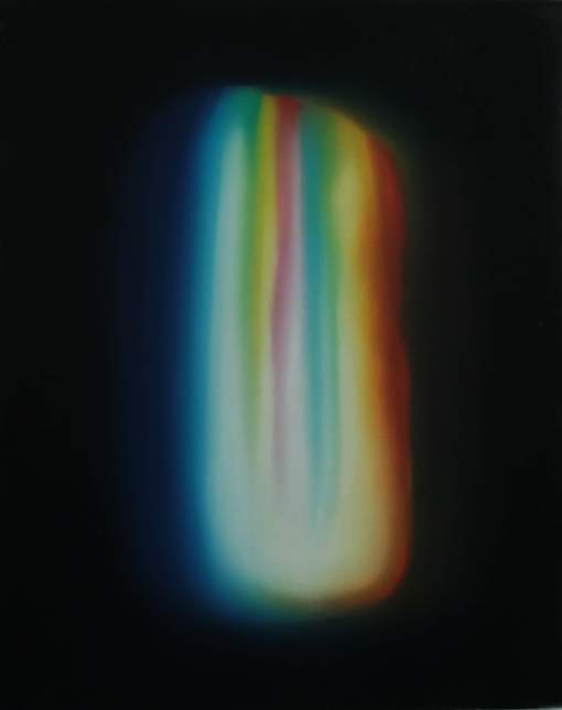 Oana Farcas,  In the Womb of Light , 2014, Oil on linen, 45 x 55 cm
