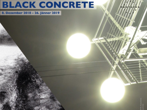 black concrete