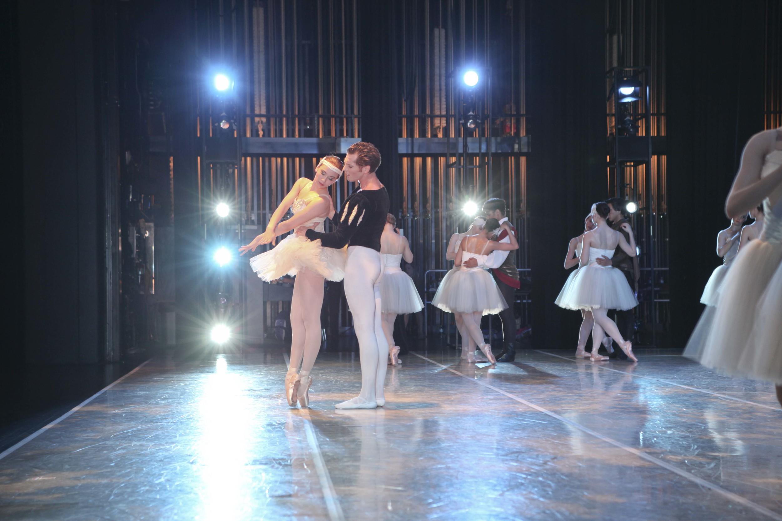 Kirk Henning & Benita Bunger Harris Theater 2013 © The George Balanchine Trust