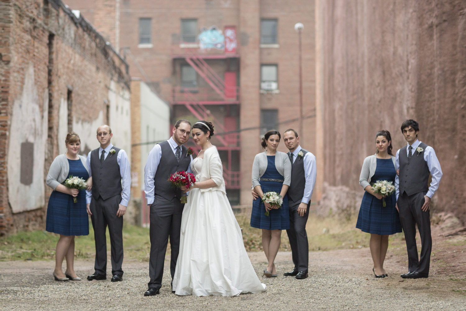 crofoot in michigan wedding bridal party photography
