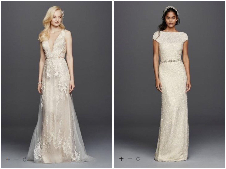 left, right: Davids Bridal