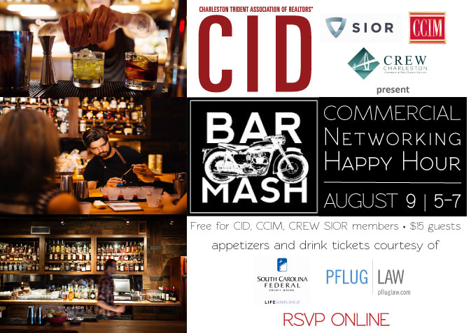 RSVP here:  https://www.eventbrite.com/e/commercial-networking-happy-hour-tickets-34987716201