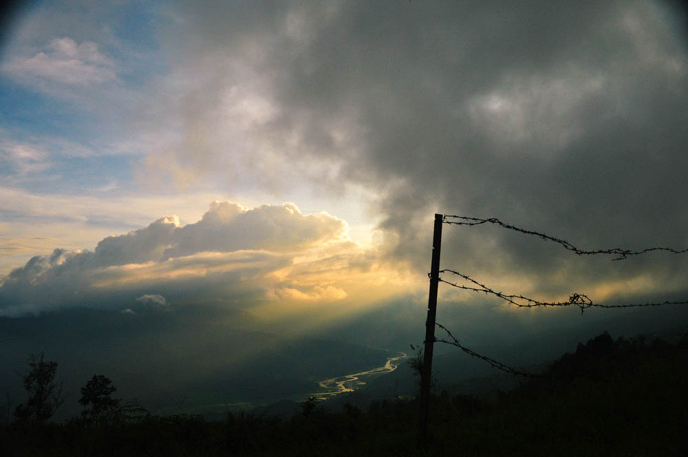 Sky at Sunset in Manali