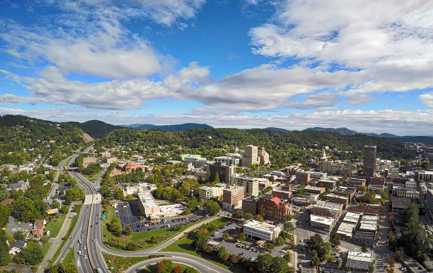 downtown asheville from above sunny day  .jpeg