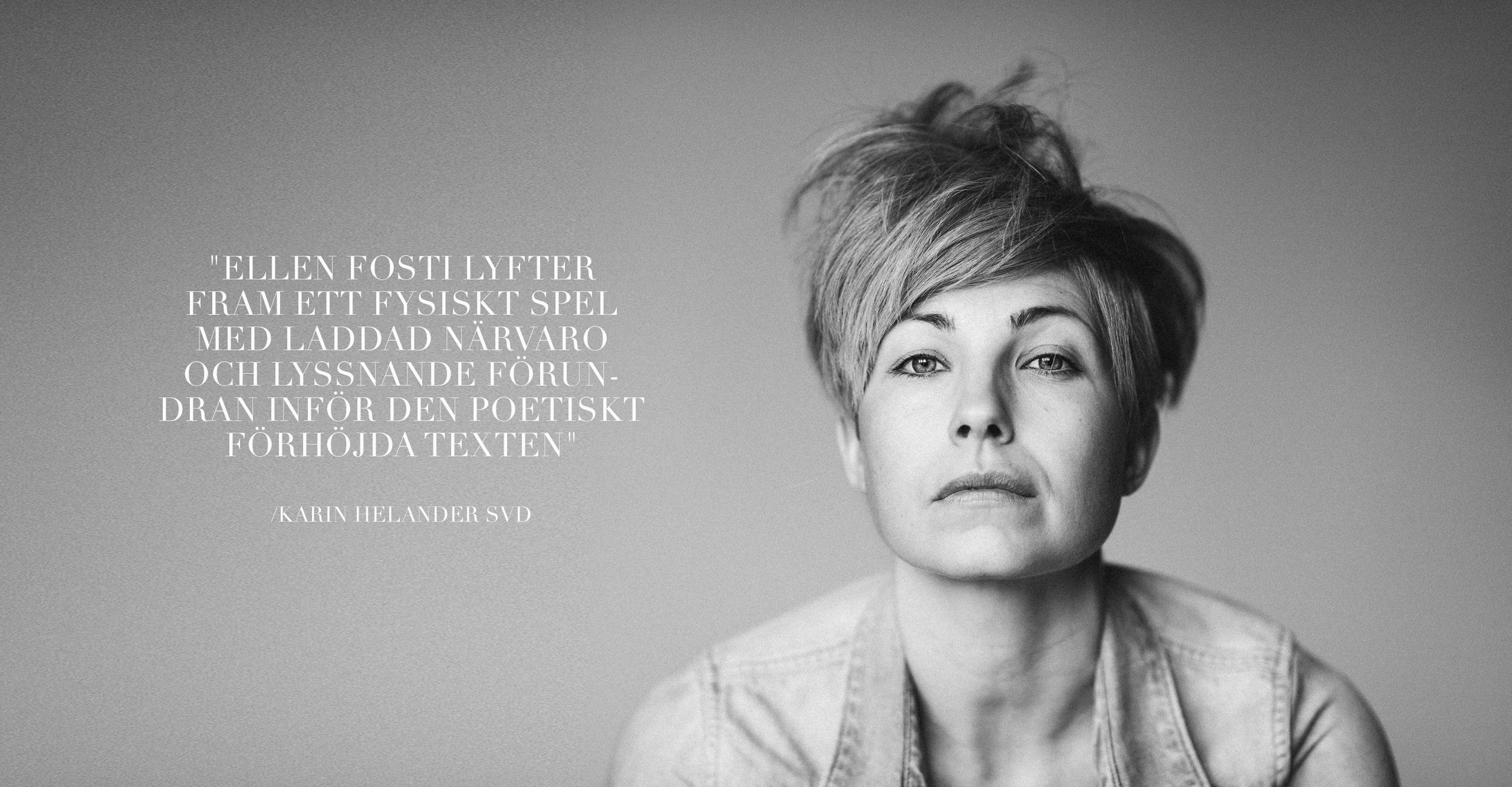 Image of Ellen Fosti_photo by Kristofer Samuelsson
