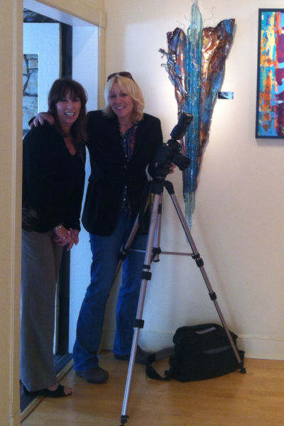 Debi and Kelly from Carmel Mag