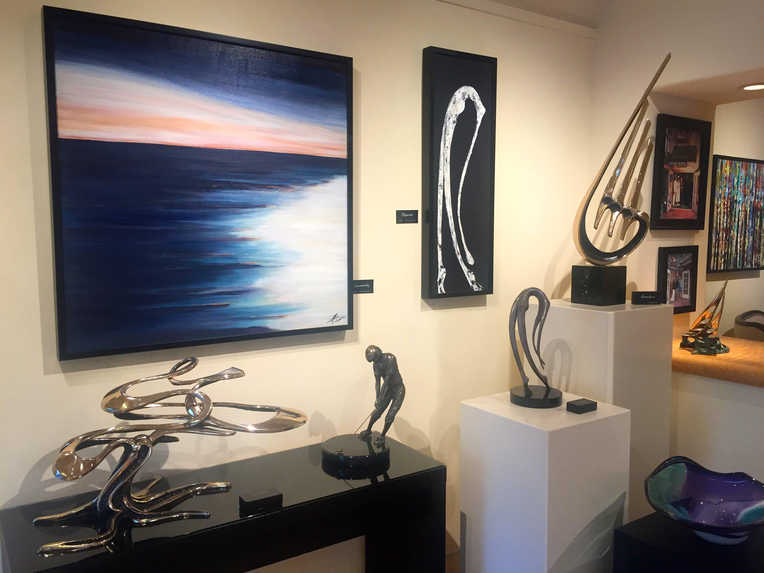 Bennett Sculpture Carmel gallery