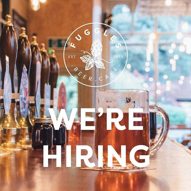 ‪We're hiring! Bartenders & managers in both our pubs - love craft beer? Get applying! Send your CV to jobs@fugglesbeercafe.co.uk or drop one in - more info on our website #jobs #tonbridge #tunbridgewells #craftbeer‬