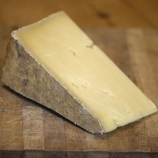 Supplier shout-out - Returning to our cheese selection is a perennial favourite, and the product that sent Doug down the rabbit hole of farmhouse cheese. Lincolnshire Poacher is made by Simon Jones and Richard Tagg in Alford, and inspired by cheesemaking legend Dougal Campbell. It's a cheddar style with elements of a Swiss alpine cheese, adding up to a bold, long-lasting flavour with distinct pineapple notes.