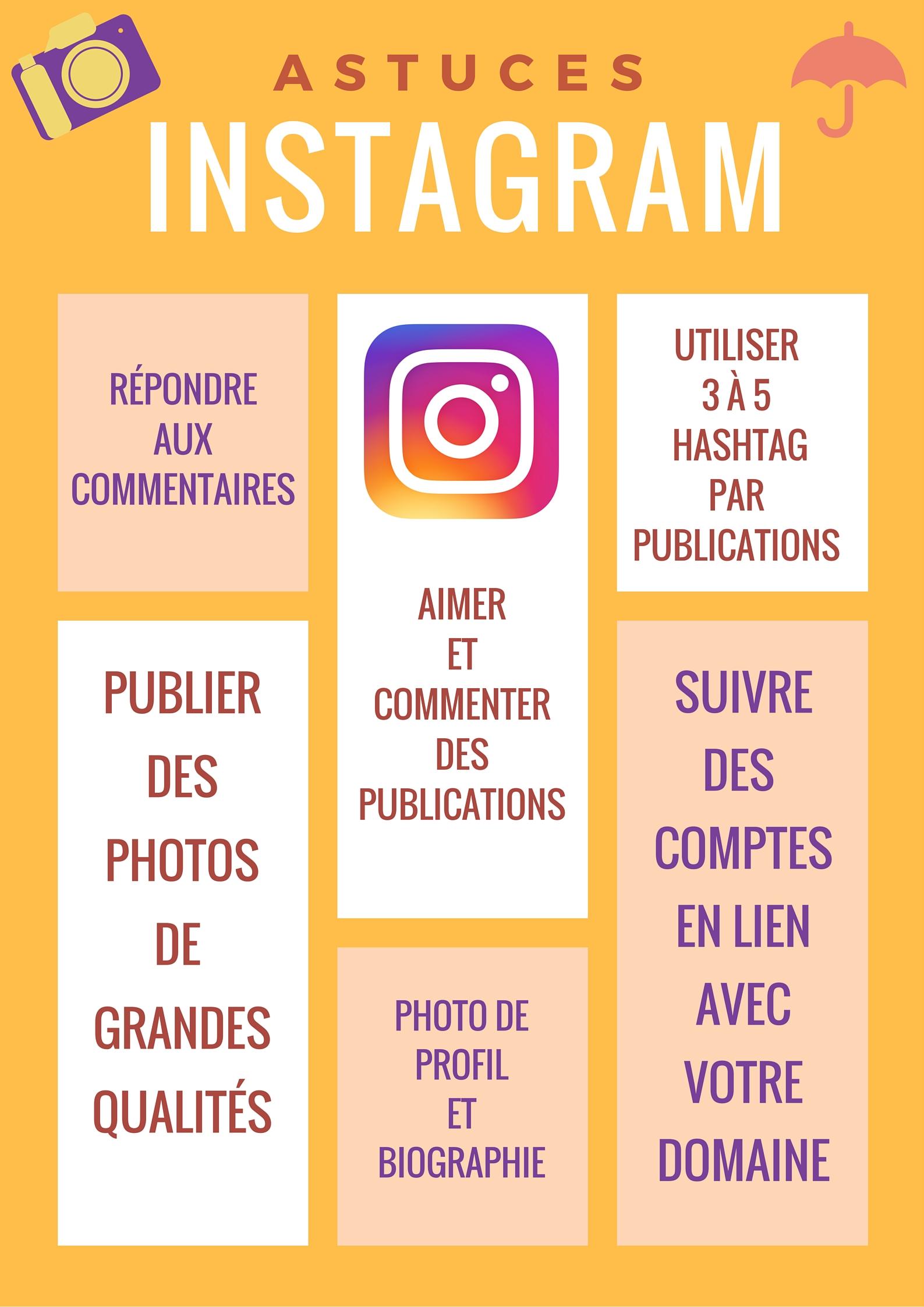 Astuces Instagram - ici PME WEB