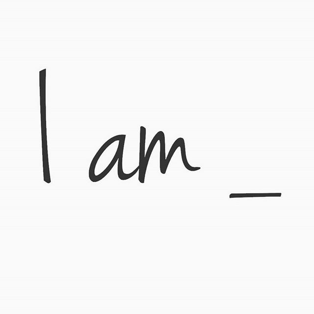 "There's so much power in these two little words. Not I want to be, I will be, I should be, I wish I was.  I am.  Meaning you own your shit and speak your desires into reality.  I am happy. I am thriving personally, professionally, and spiritually. I am at peace. I am a good friend/husband/wife/daughter/son.  I am.  This morning, my meditation was inhaling ""I am,"" and exhaling what I want to continue, increase, or manifest. Sinking into the space between the thoughts. Feeling. Being. Breathing.  I am connected. I am grateful. I am happy. I am doing what I'm meant to be doing.  #108wordstories #meditation"