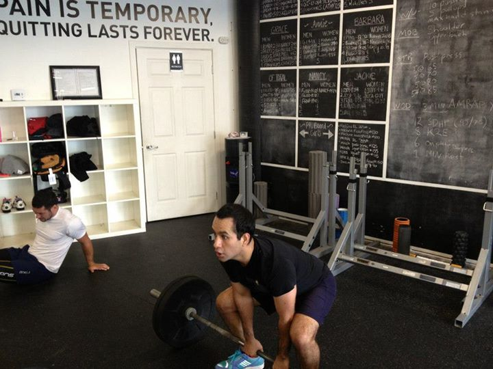 Sumo Deadlift High Pulls mid WOD are a recipe for funny faces