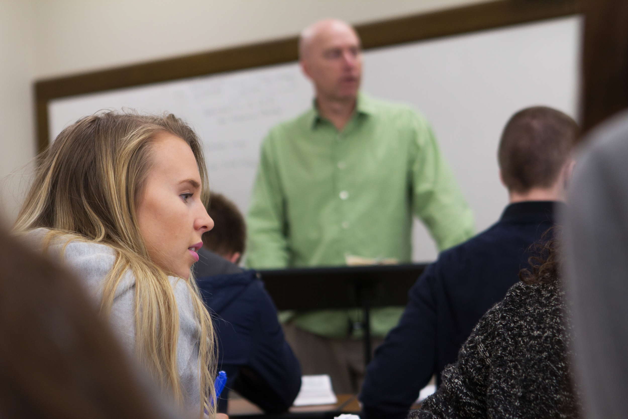 Mr. Steven Undseth's Bible class provides students with a framework for critical thinking helping students better understand God's word.