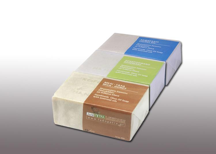 handmade olive oil soaps 125gr