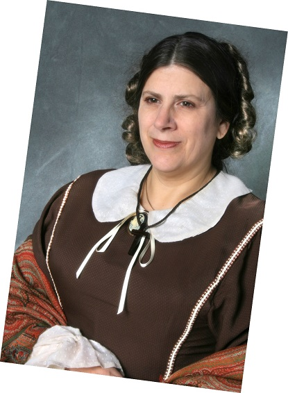 Emma Palzere-Rae as Harriet Beecher Stowe