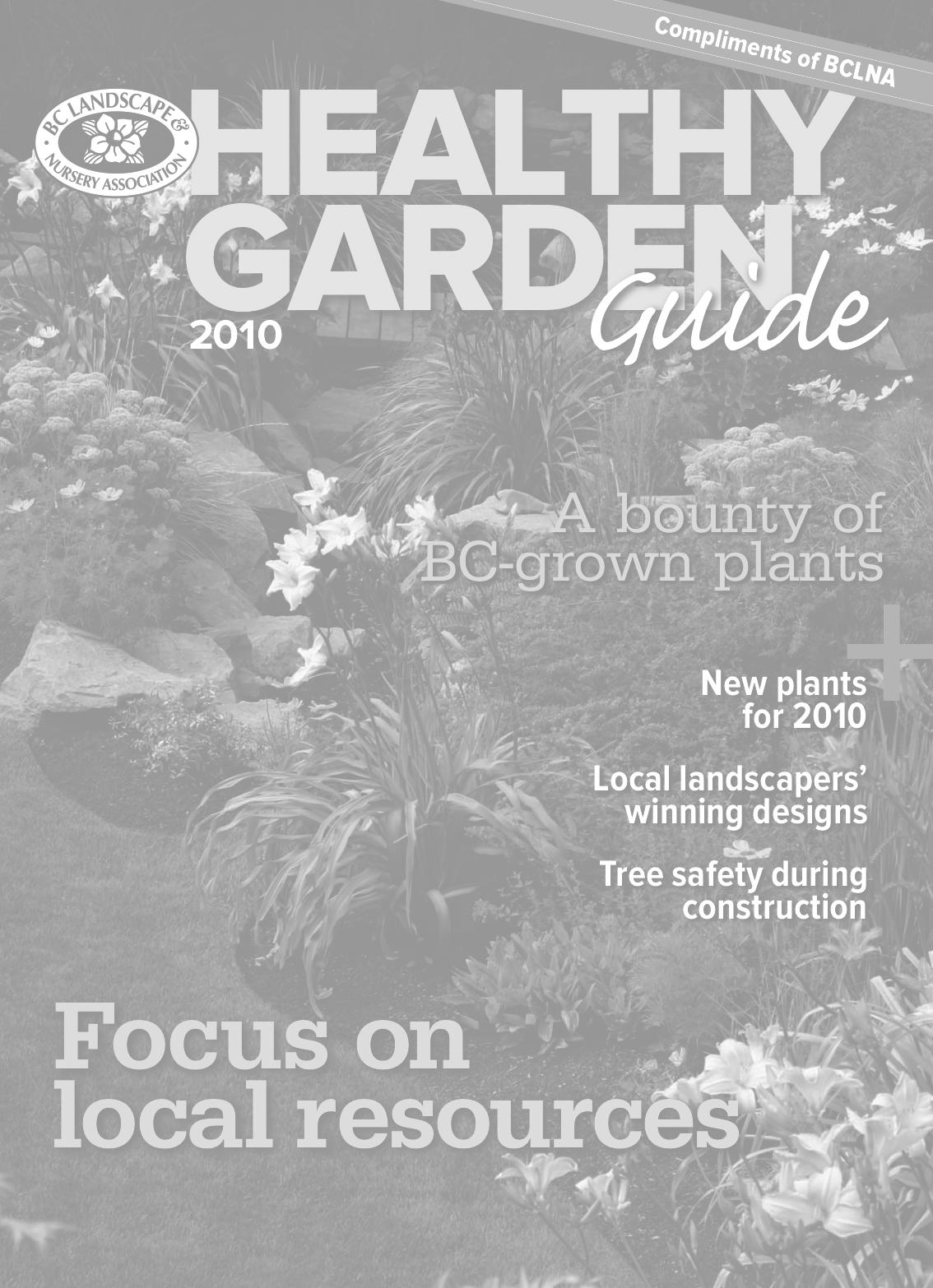 Healthy Garden Guide