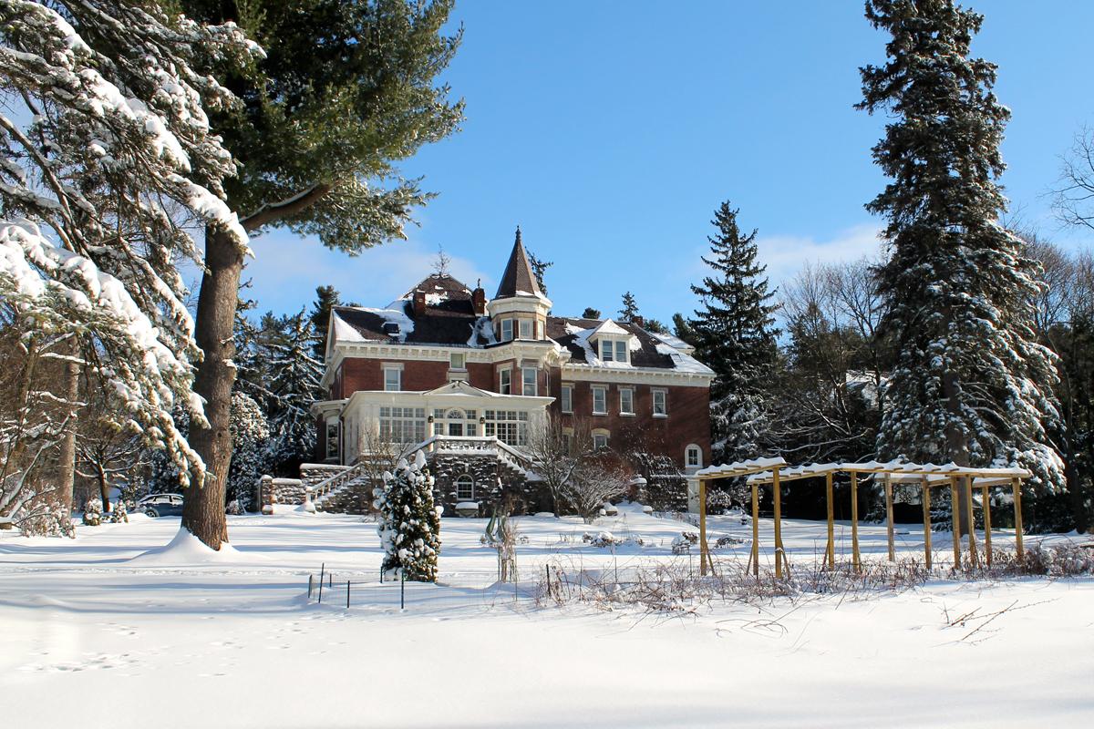 Winter wonderland at the Willard Street Inn
