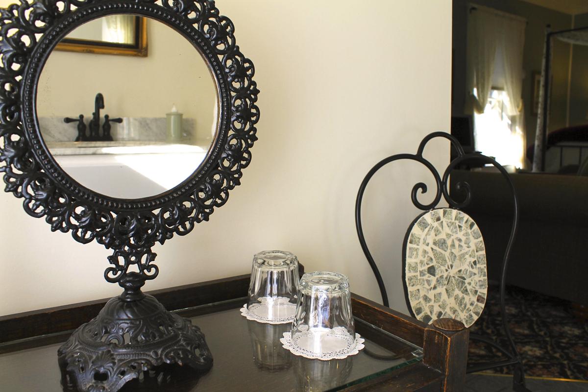 Woodhouse Suite, Rm 8 Bathroom of the Willard Street Inn