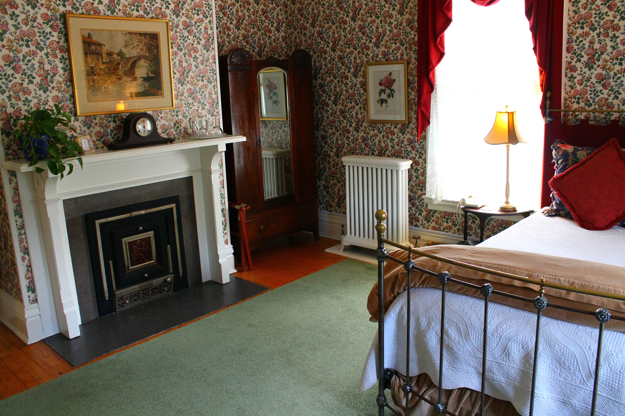 Victorian Cabernet, Rm 2 of the Willard Street Inn