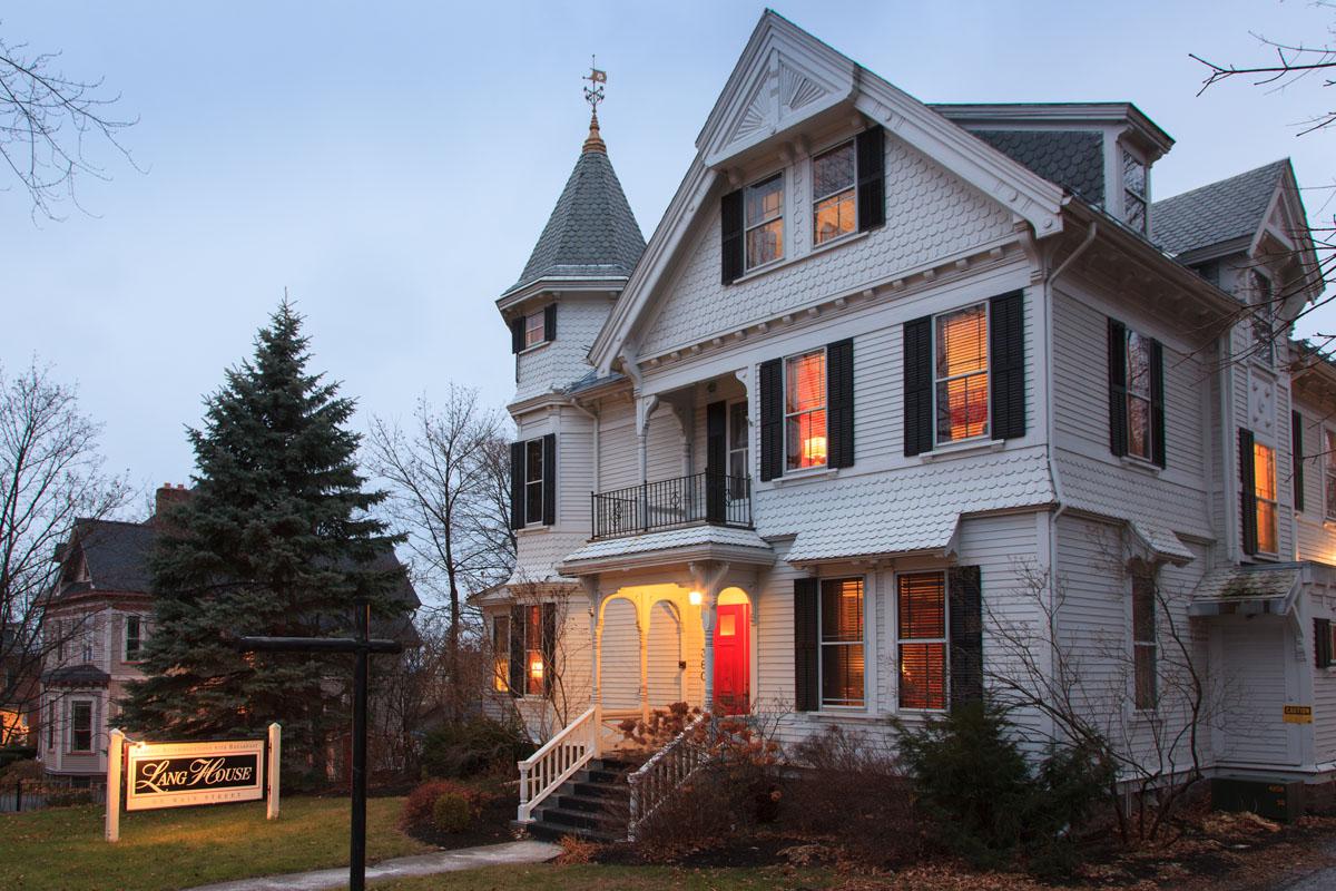 Lang House on Main Street, Burlington, Vermont