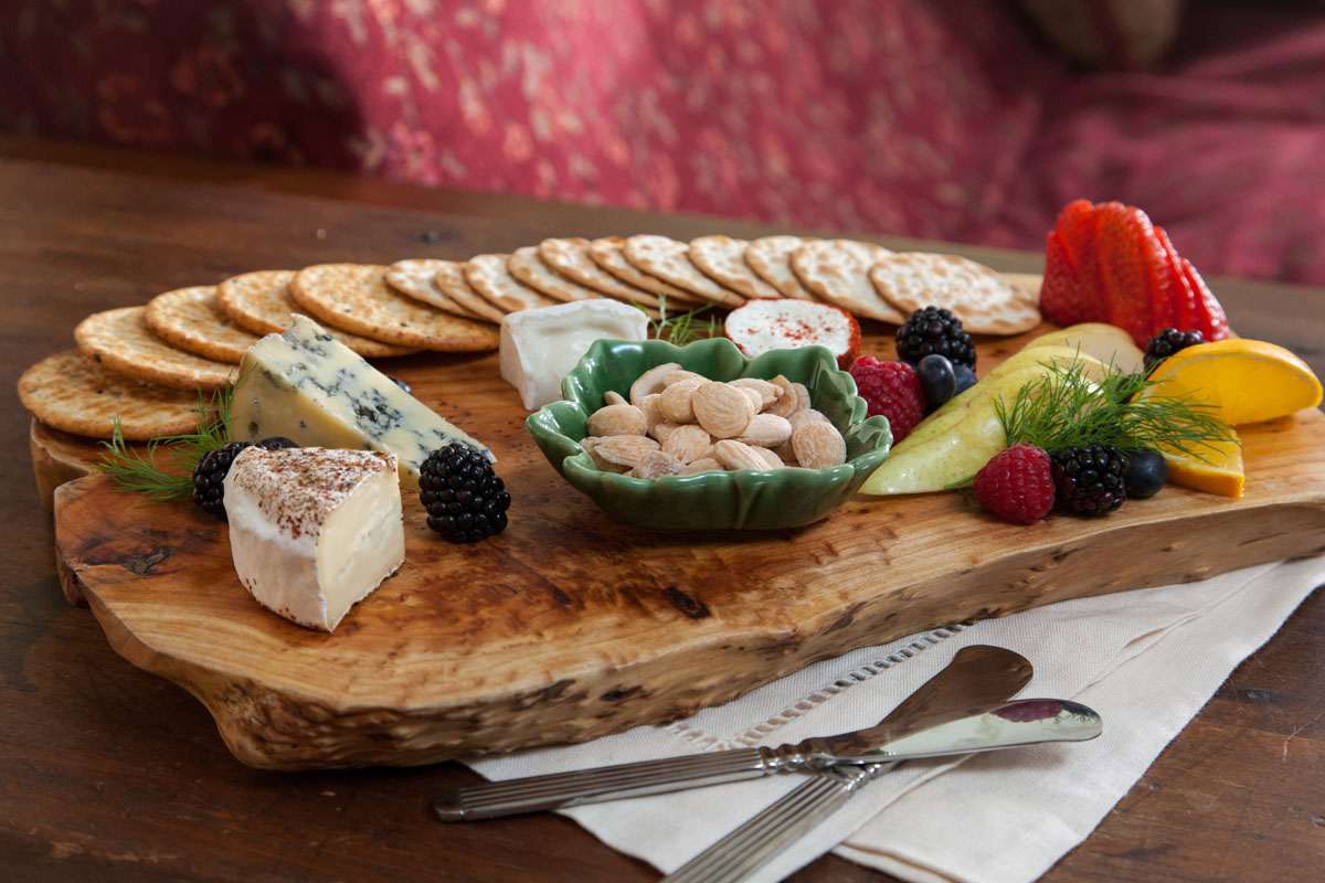 Lang House on Main Street, Cheese plate
