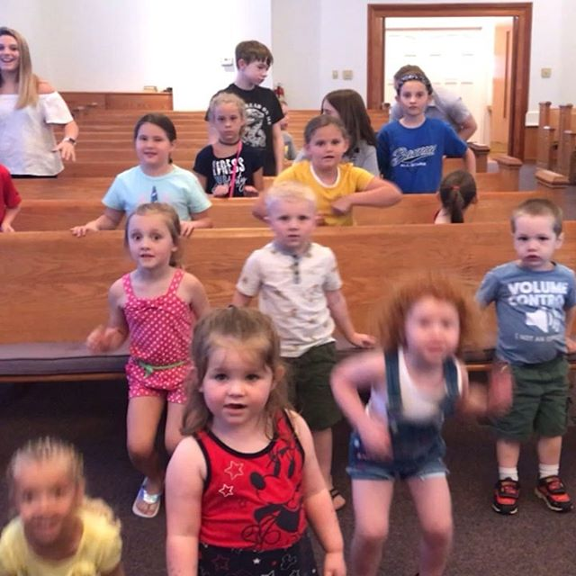 #vbs2019 we may be small in number but our faith and fun is big!!
