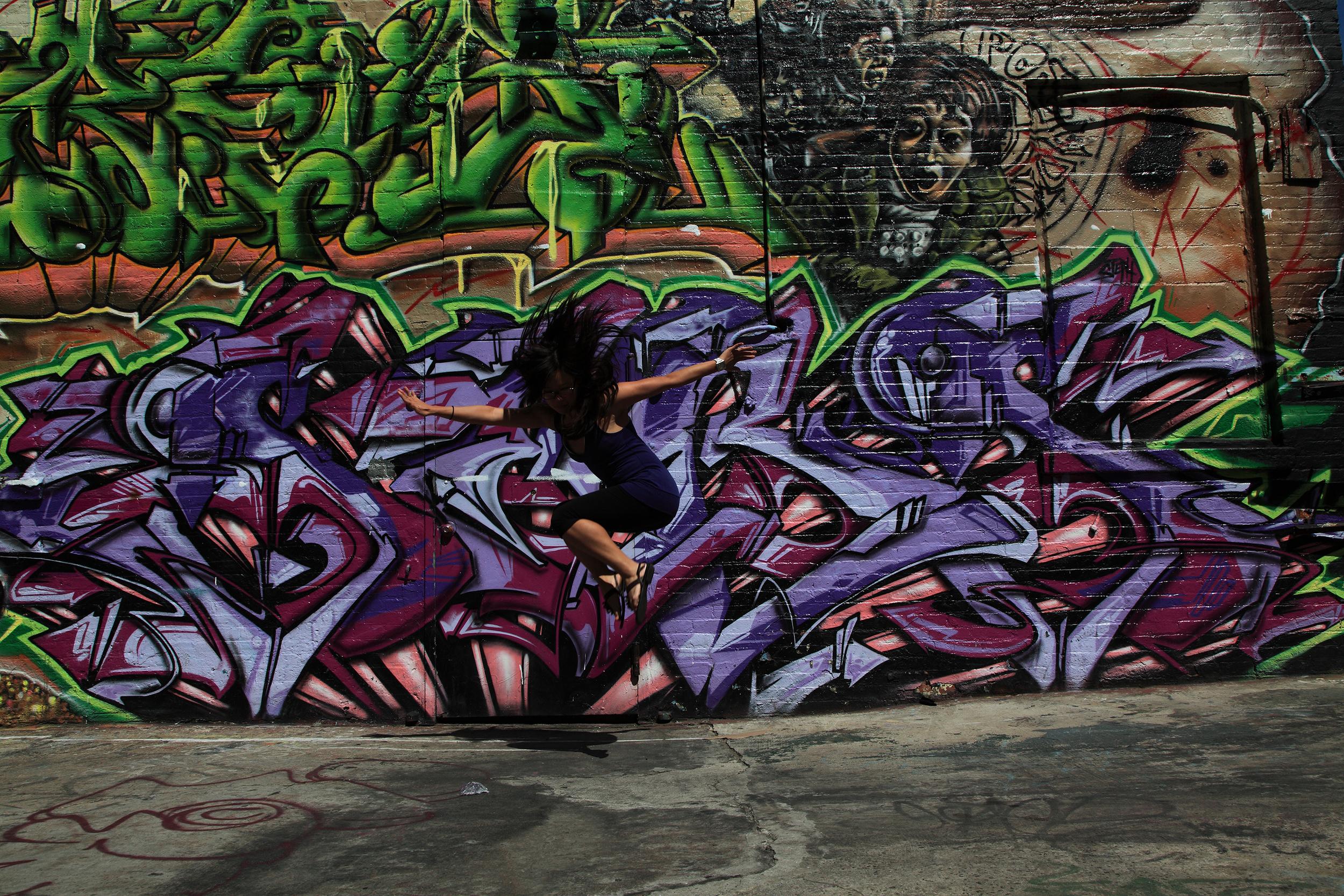 Taken at 5 Pointz, a public art and graffiti mecca.