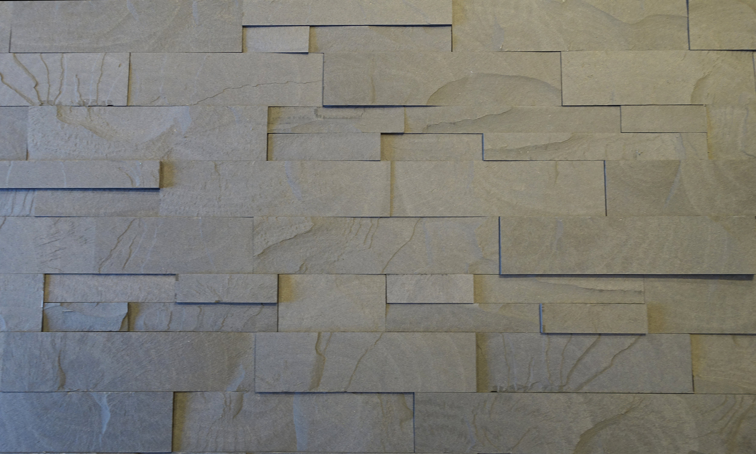 "Earth XL mixed with our Standard 1.5"" Earth tile"