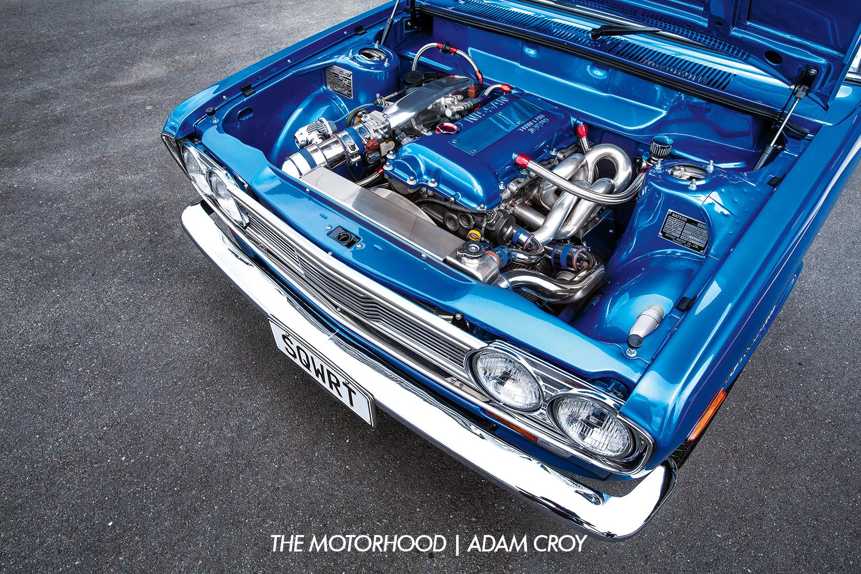 Just a little SQWRT: 1969 Datsun 1600 (P510) — The Motorhood