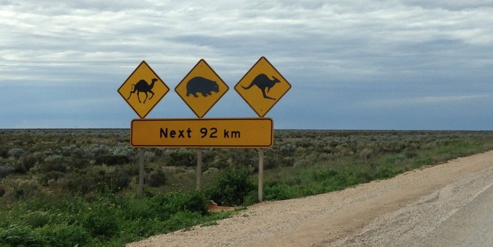 Memorable road signs in traditional Aussie fashion