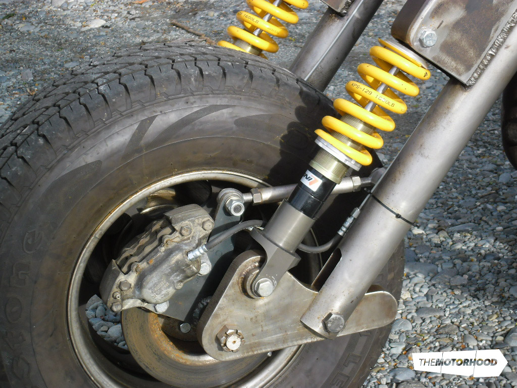 Three-wheel madness: the thrill of a bike and the comfort of