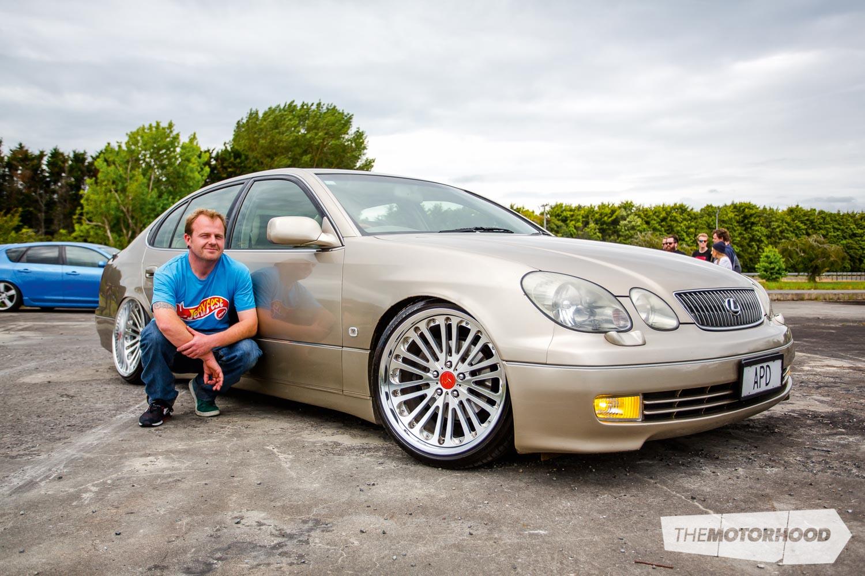 Name: Kelvin Taylor Car: 2000 Lexus GS300 Wheels: 19×9.5-inch/ 19×11-inch Locksmice Valore