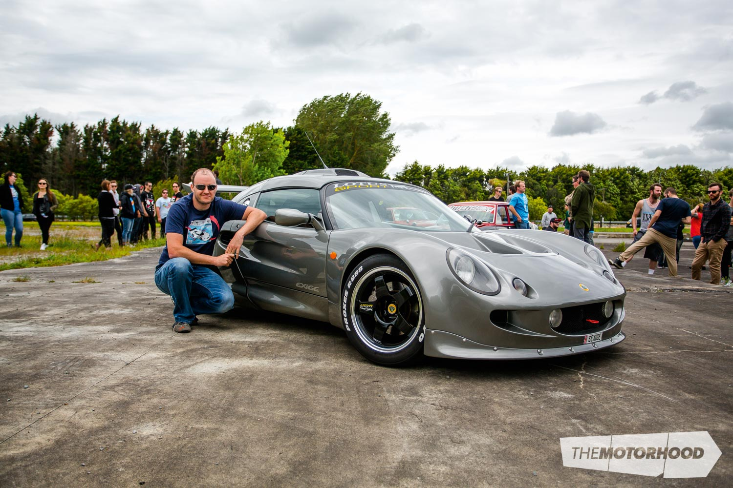 Name: George Maddever Car: 2001 Lotus Exige Type 111 Wheels: 16x7-inch/17x8.5-inch Podium FSL002 forged