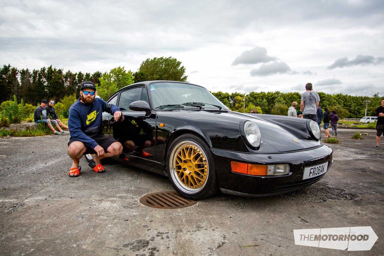 Name: Anthony Wong Car: 1990 Porsche 964 Carrera 4 Wheels: 18x8/18x8.5-inch Work Brombacher