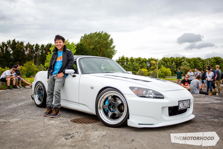 Name: Phil Tran Car: 2004 Honda S2000 Wheels: 18x8-inch/18x0.5-inch Work Meisters SP1 3-piece