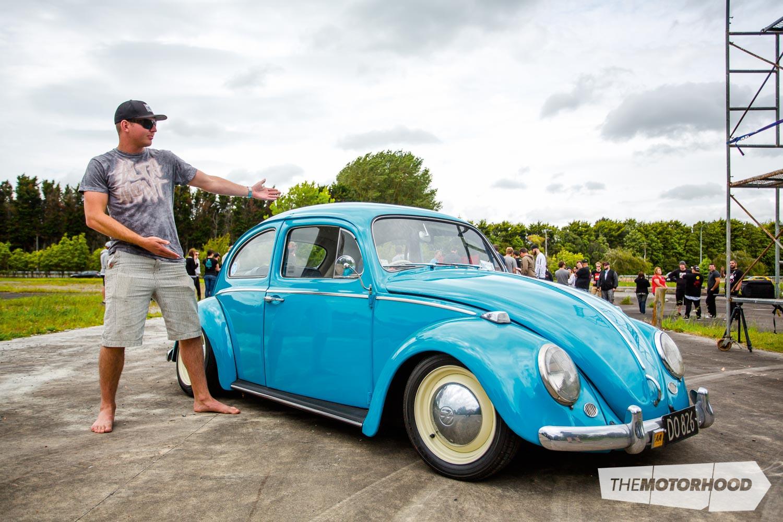 Name: Damian Wijnhoud Car: 1967 VW Beetle Wheels: Widened factory steel
