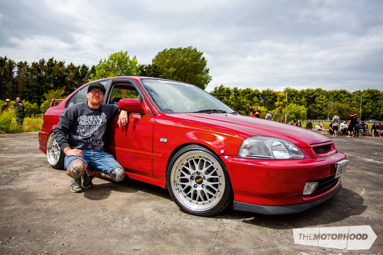 Name: Ants Wong Car: K20 1997 Honda Civic EK Wheels: 17x8-inch/17x9-inch BBS LM reverse face