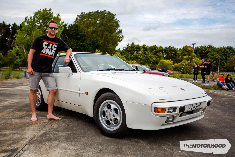 Name: Richard Opie Car: 1987 Porsche 944 Wheels: Factory (en route from Japan)