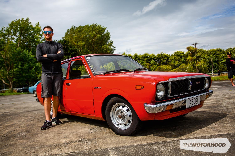 Name: Jordan Moss Car: 1979 Toyota Corolla KE30 Wheels: Factory