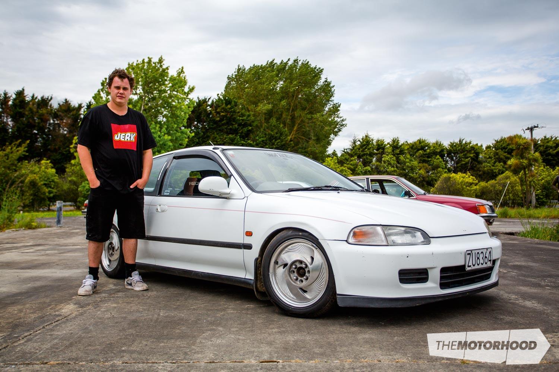 Name: Tuggy Dougy Car: 1991 Honda Civic EG Wheels: UMMMMMM