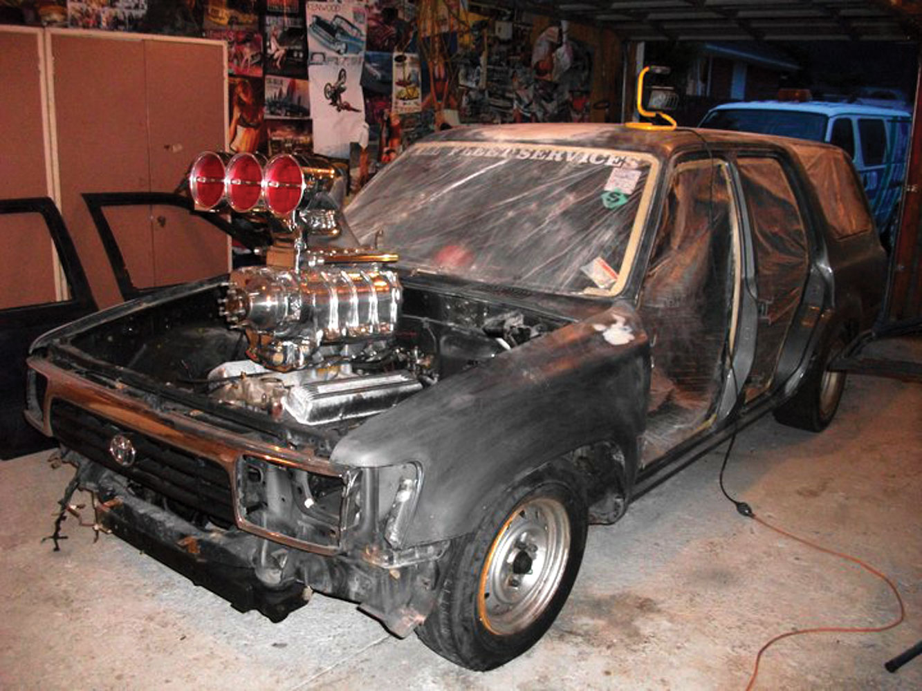 Putting a spotlight on New Zealand's craziest V8 conversions