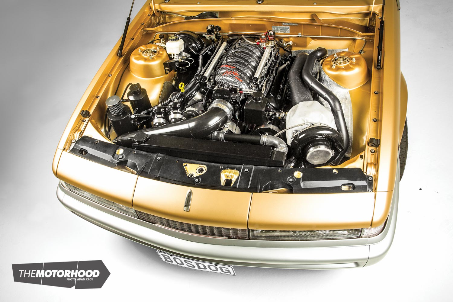 Meet 'BOSDOG': the show-stopping VL packing a 1000hp turbo