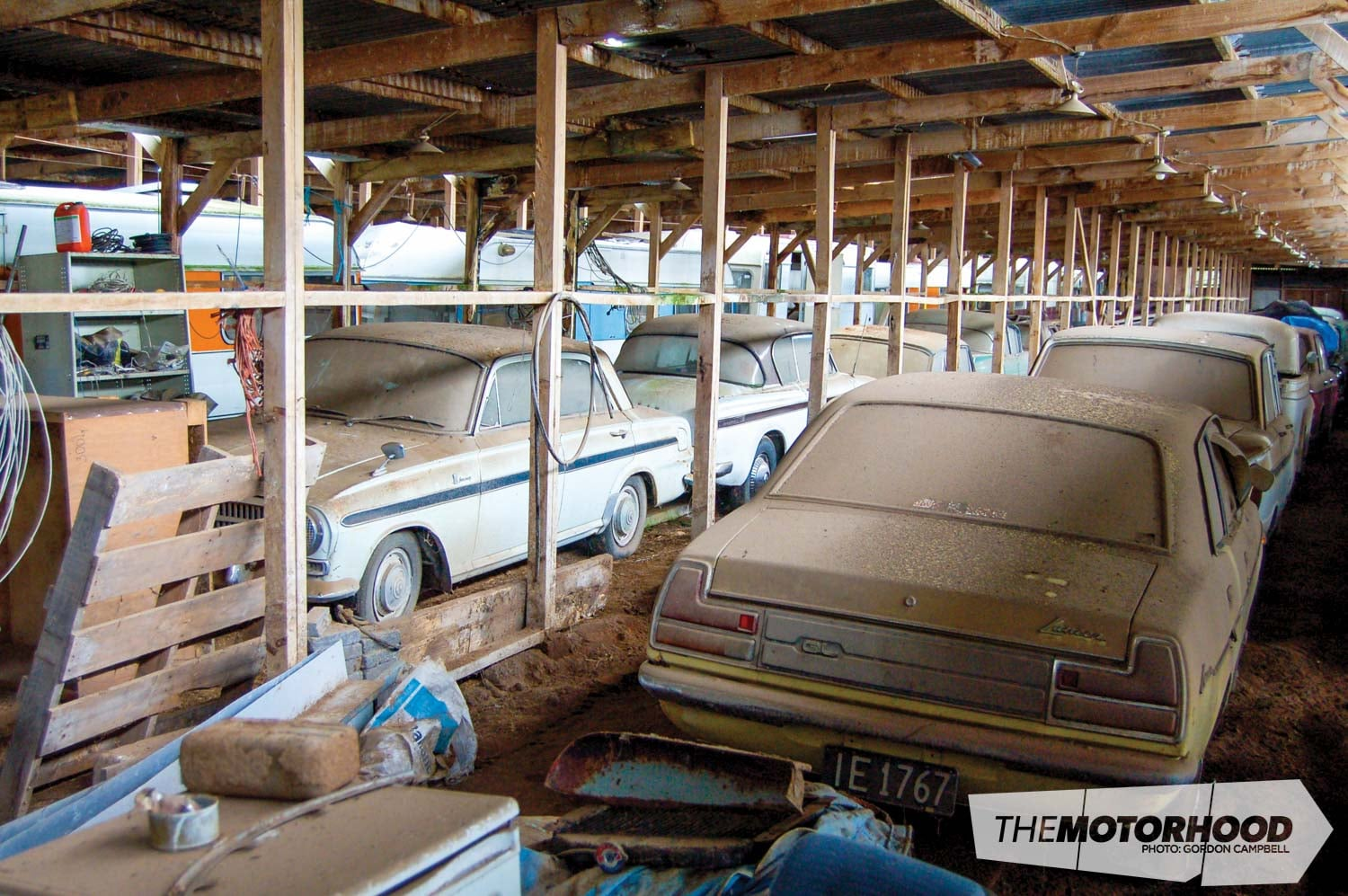 The Collectors 200 Dusty Classic Cars Found In A Barn The Motorhood