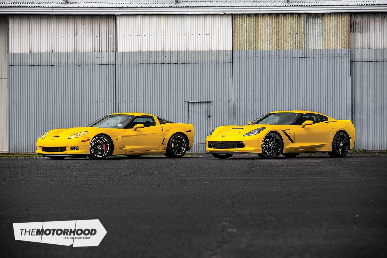 Low-flying 'Vettes: NA C7 vs twin-turbo C6 — The Motorhood