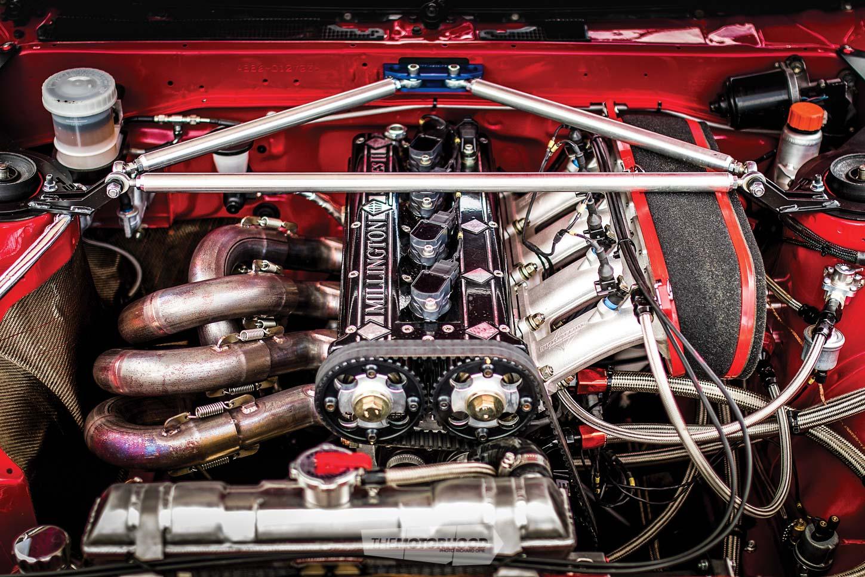 Shine on you crazy diamond: Millington-powered AE86 rally weapon