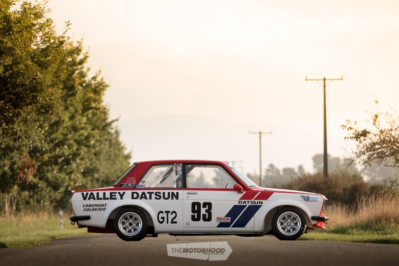 Racing the legacy: original Valley Datsun 510 racer — The
