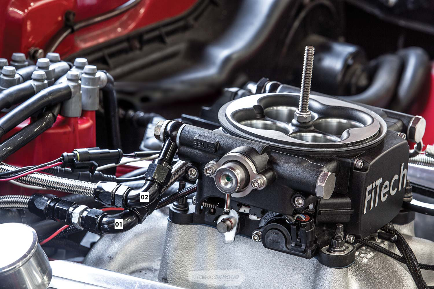 Electronic efficiency: carb to EFI conversion — The Motorhood
