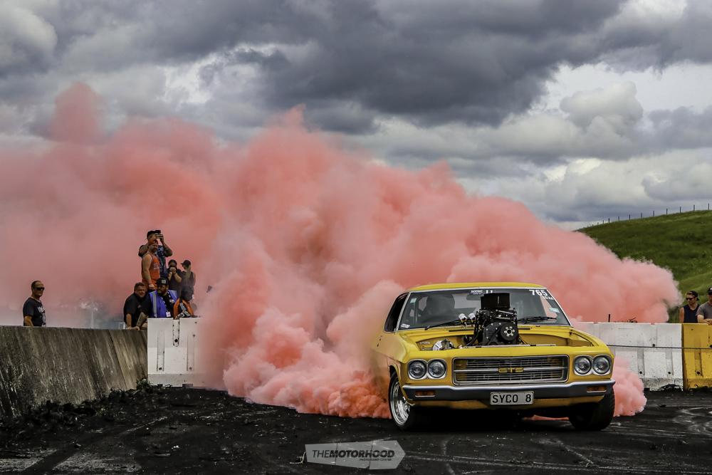 Packing heat: burnout insanity at NZBC 4 0 — The Motorhood