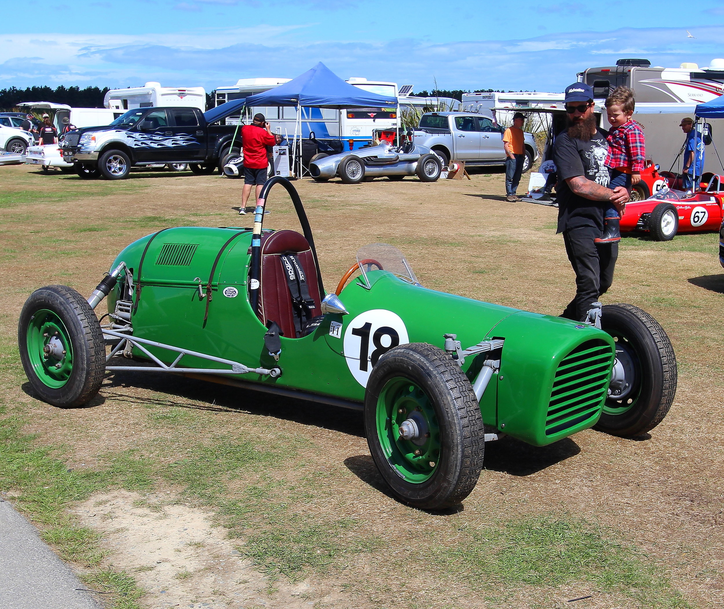Perennial classic: Citroen Special built by Doug Haig of Timaru and first raced in 1951